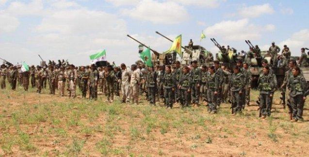 YPG, Til Ebyad'ın kapısına dayandı!