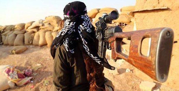 YPG'li Wekes: Esir aldığımız IŞİD'li Filistin'de İsrail'e karşı savaştığını zannediyordu