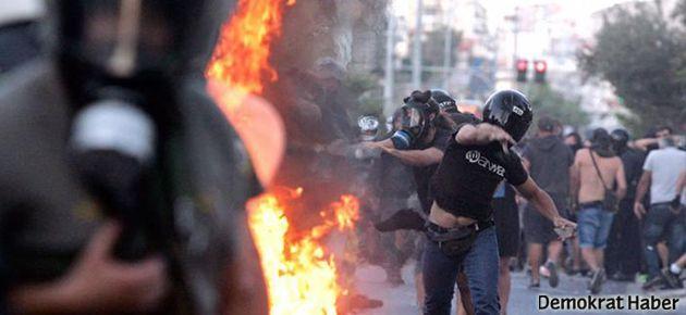 Yunanistan aşırı sağcı katillere karşı sokakta