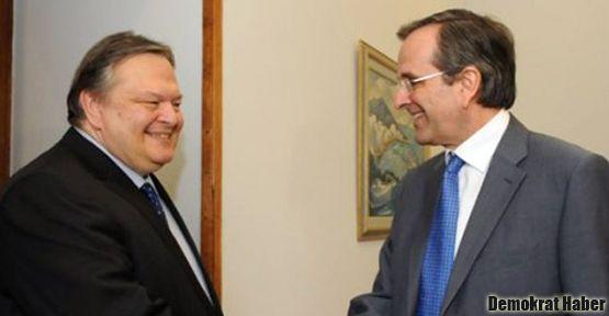 Yunanistan'da koalisyon hükümeti kuruldu