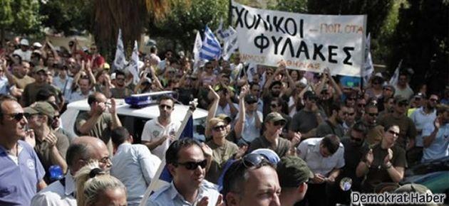Yunanistan'da protestolar ve grevler devam ediyor
