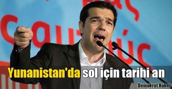 Yunanistan'da sol için tarihi an