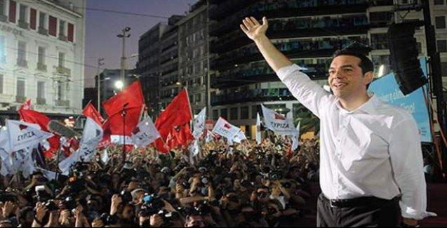 Yunanistan'da sol silip süpürdü: Syriza'dan büyük zafer!