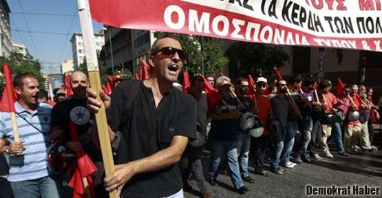 Yunanistan'da yılın ilk genel grevi