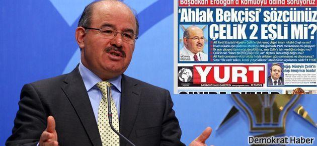 Yurt gazetesi Hüseyin Çelik'ten özür diledi
