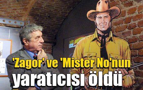 'Zagor' ve 'Mister No'nun yaratıcısı öldü
