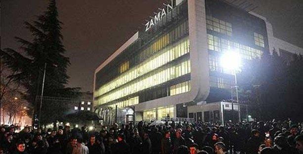 Fuat Avni gözaltı listesi açıkladı, Zaman Gazetesi önünde eylem başladı