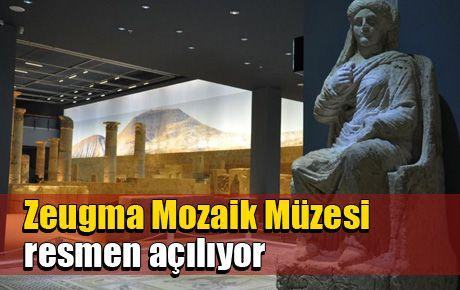 Zeugma Mozaik Müzesi açılıyor