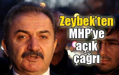 Zeybek'ten MHP'ye açık çağrı