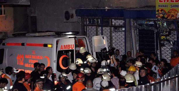 Zeytinburnu'daki patlamada ölen isimler belli oldu
