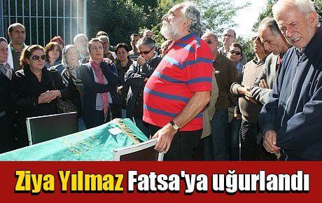 Ziya Yılmaz Fatsa'ya uğurlandı