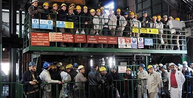 Zonguldak madencilerinin yevmiyeleri kesildi