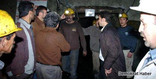 Zonguldak'ta göçük, 1 işçi mahsur kaldı