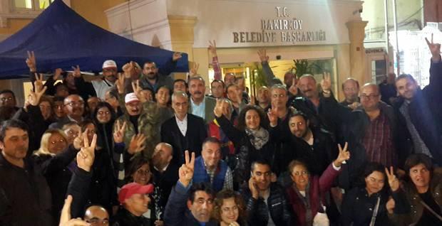 bakırköy belediyesi grev
